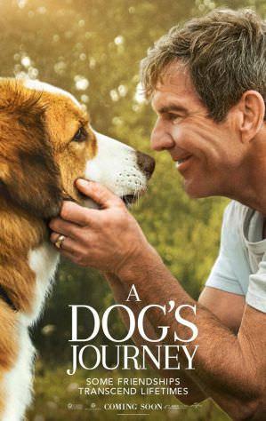 狗狗的旅程 海報