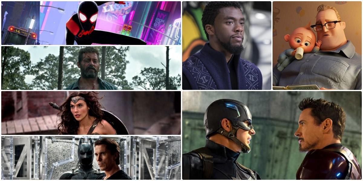 超級英雄電影排名