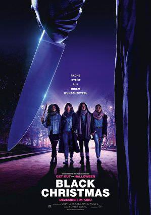 黑色聖誕節 海報