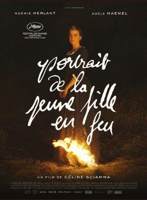 燃燒女子的畫像 海報