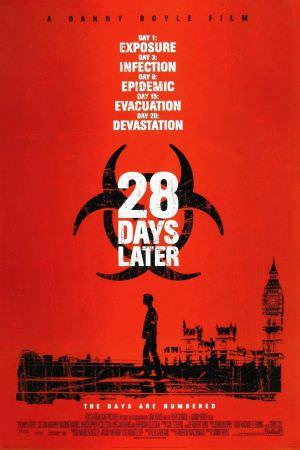 28天毀滅倒數 電影海報