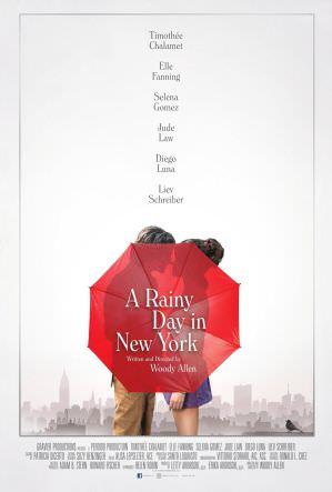 雨天紐約 海報