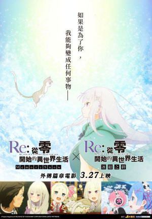 Re從零開始的異世界生活 外傳篇章電影海報