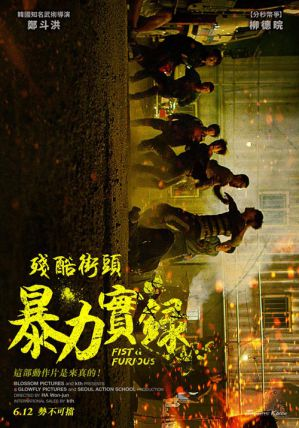 殘酷街頭暴力實錄 電影海報