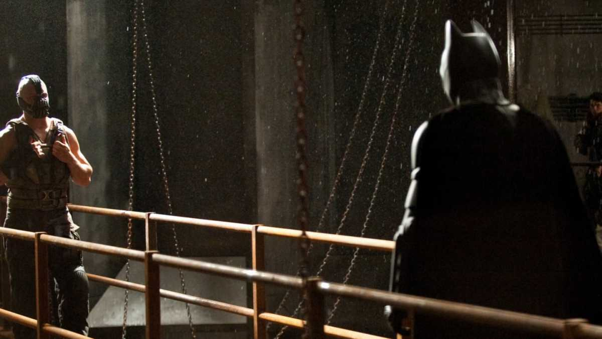 黑暗騎士黎明昇起 電影海報