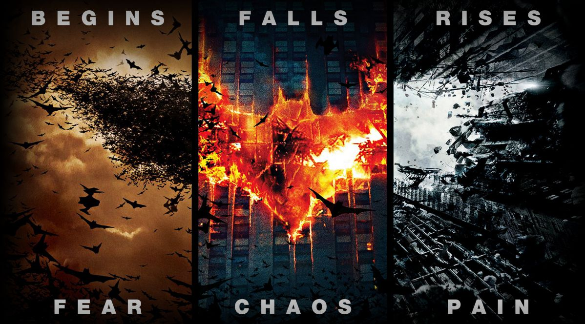 黑暗騎士三部曲 電影海報