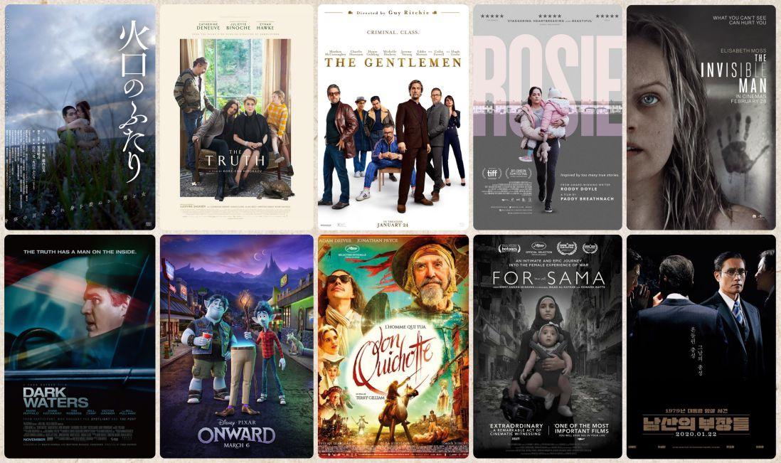 2020電影推薦 上半年上映電影