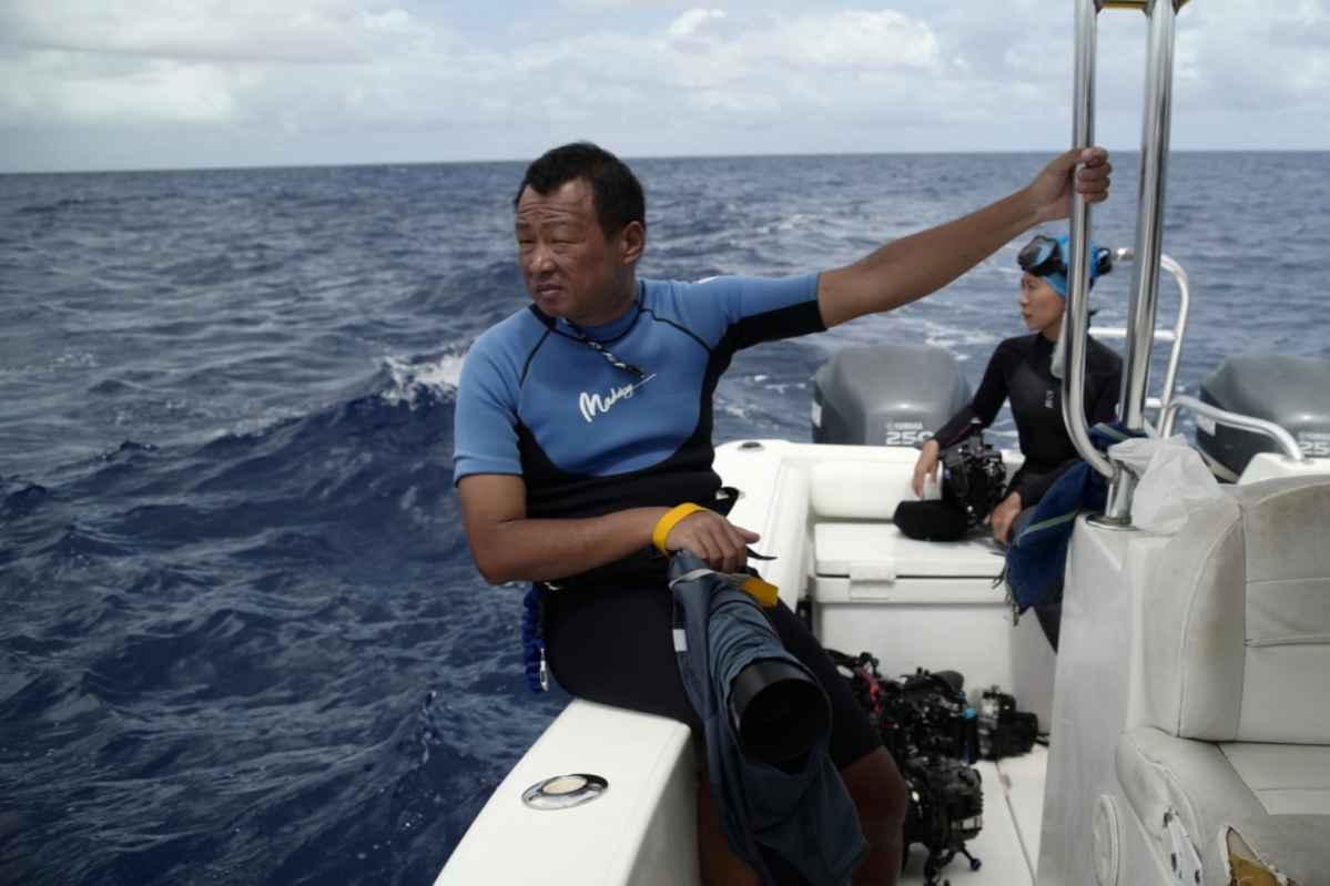 男人與他的海 電影劇照