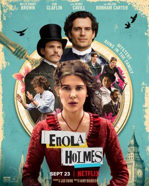 天才少女福爾摩斯 電影海報