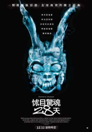 怵目驚魂28天 電影海報