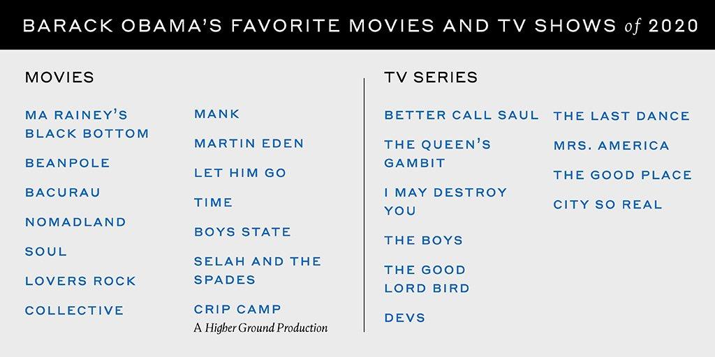 2020歐巴馬電影推薦