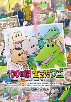 活了100天的鱷魚 海報