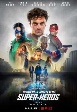 超能世界 Netflix 海報