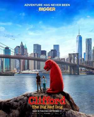 大紅狗克里弗 海報