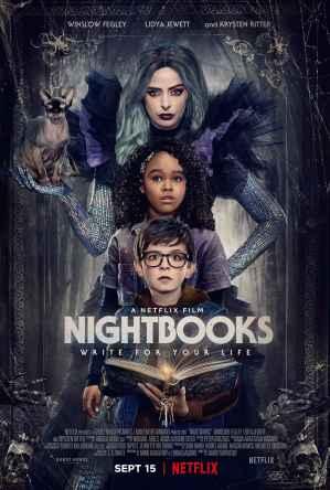 夜讀驚魂 Netflix 海報