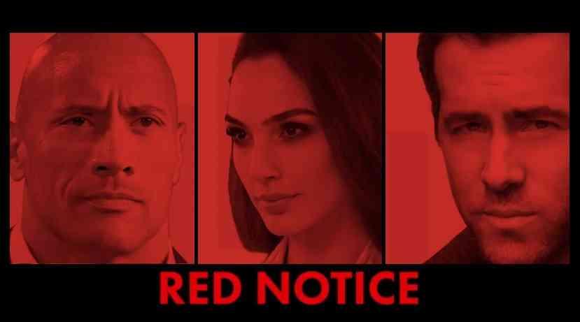 red notice netflix 電影