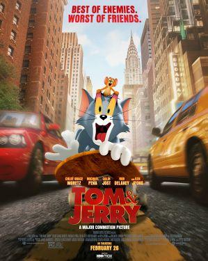 湯姆貓與傑利鼠 電影海報