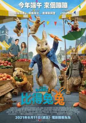 比得兔兔2 電影海報